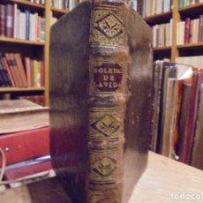 Libros antiguos: SOLEDADES DE LA VIDA. CRISTOBAL LOZANO. 1672. Lote 194323276