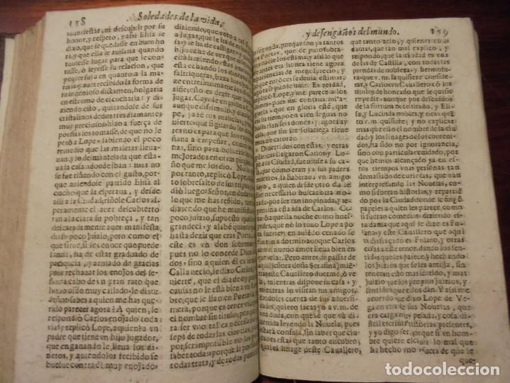 Libros antiguos: SOLEDADES DE LA VIDA. CRISTOBAL LOZANO. 1672 - Foto 4 - 194323276