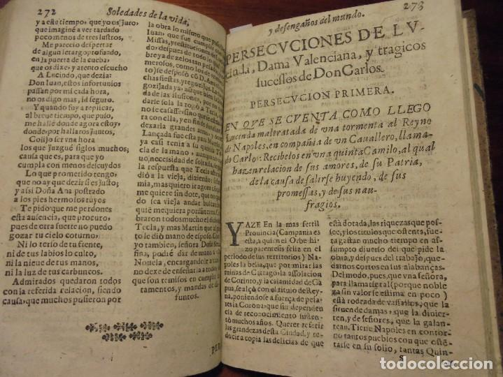 Libros antiguos: SOLEDADES DE LA VIDA. CRISTOBAL LOZANO. 1672 - Foto 6 - 194323276