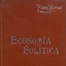 Libros antiguos: VOCABULARIO DE LA ECONOMÍA - J. PIERNAS HURTADO. Lote 194324470