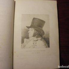 Libros antiguos: GOYA. CAPRICHOS. SEGUÍ. 1884. Lote 194333686