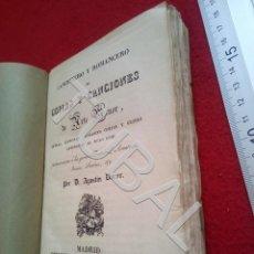 Libros antiguos: TUBAL 1829 CANCIONERO Y ROMANCERO DE COPLAS Y CANCIONES AGUSTIN DURAN U18. Lote 194334422