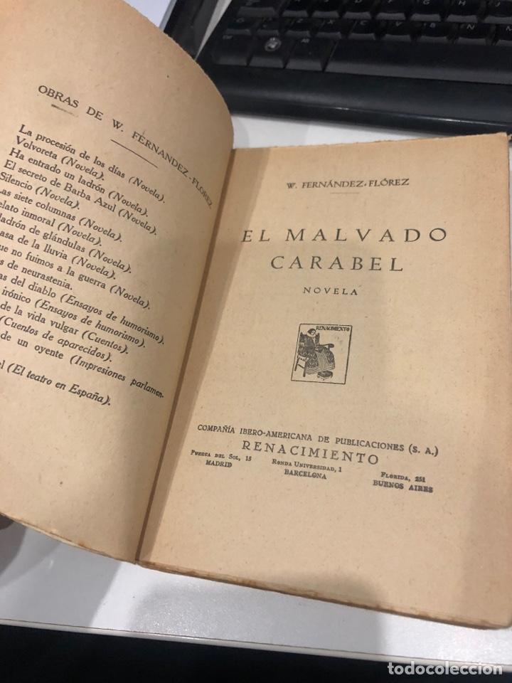 Libros antiguos: El maleado carabel - Foto 3 - 194337627