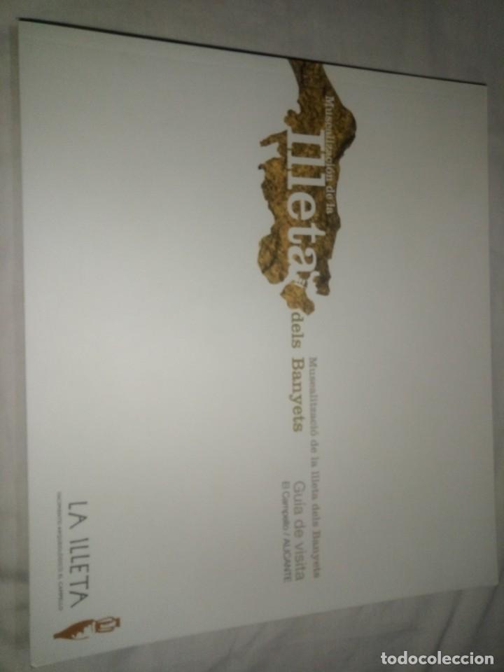 LIBRO GUÍA DE VISTA MUSEALIZACION DE LA ILLETA DELS BANYETS - EDICIÓN DE 2006 (Libros Antiguos, Raros y Curiosos - Historia - Otros)