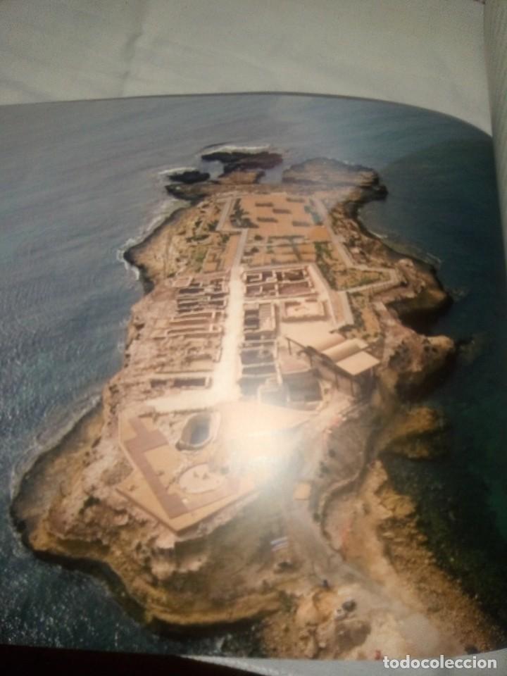 Libros antiguos: Libro Guía de vista Musealizacion de la illeta Dels Banyets - Edición de 2006 - Foto 3 - 194337756
