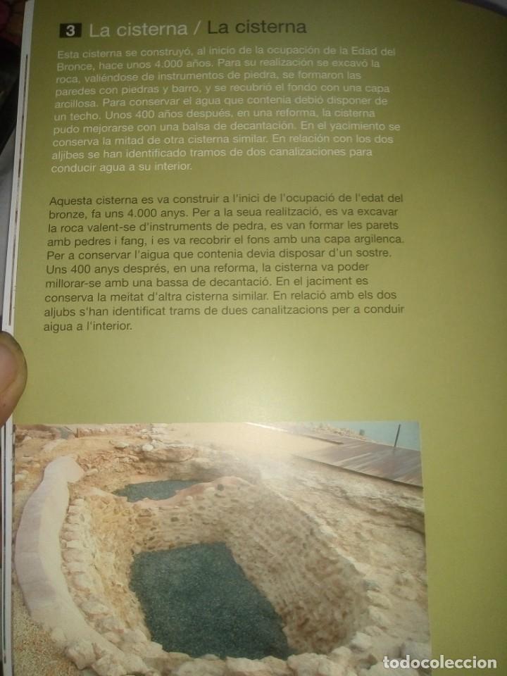 Libros antiguos: Libro Guía de vista Musealizacion de la illeta Dels Banyets - Edición de 2006 - Foto 7 - 194337756
