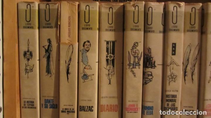 COLECCION LIBRO DOCUMENTO- DIFERENTES EJEMPLARES (Libros Antiguos, Raros y Curiosos - Historia - Otros)