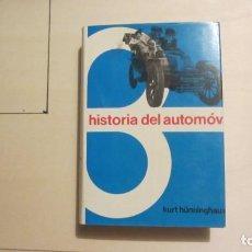 Libros antiguos: HISTORIA DEL AUTOMOVIL. Lote 194349398