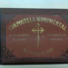 Libros antiguos: 1884 COMPOSTELA MONUMENTAL - SANTIAGO - GALICIA - LIBRO FOTOGRAFIAS DE CHICHARRO. Lote 194390176