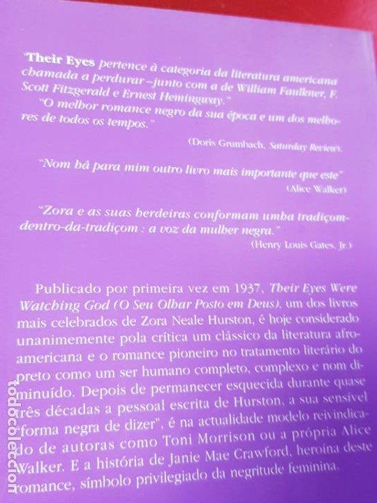 Libros antiguos: libro-o seu olhar posto em deus-zora neale hurston-1993-excelente estado-ver fotos - Foto 5 - 194398276