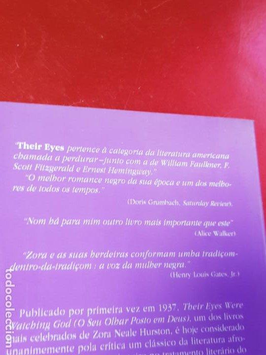 Libros antiguos: libro-o seu olhar posto em deus-zora neale hurston-1993-excelente estado-ver fotos - Foto 6 - 194398276