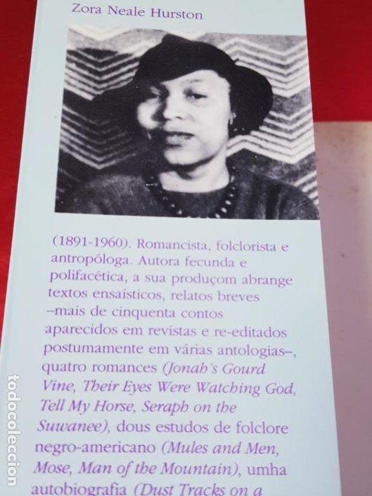 Libros antiguos: libro-o seu olhar posto em deus-zora neale hurston-1993-excelente estado-ver fotos - Foto 7 - 194398276