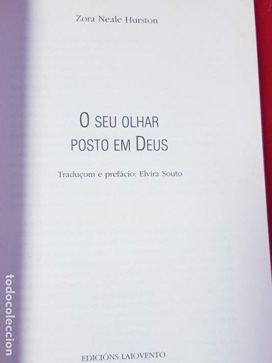 Libros antiguos: libro-o seu olhar posto em deus-zora neale hurston-1993-excelente estado-ver fotos - Foto 12 - 194398276