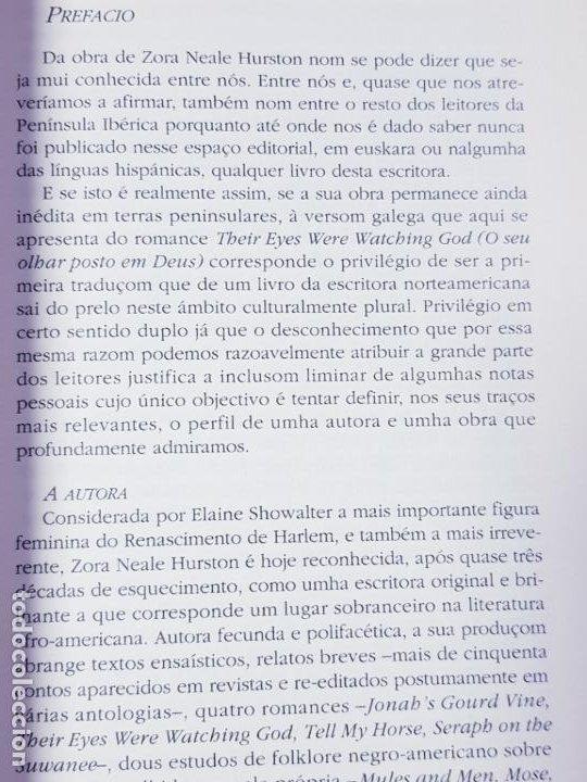 Libros antiguos: libro-o seu olhar posto em deus-zora neale hurston-1993-excelente estado-ver fotos - Foto 15 - 194398276