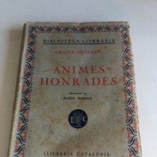 Libros antiguos: ANIMES HONRADES. Lote 194406168