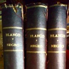 Libros antiguos: BLANCO Y NEGRO 1920 (TOMO 1-2-3). Lote 194495112