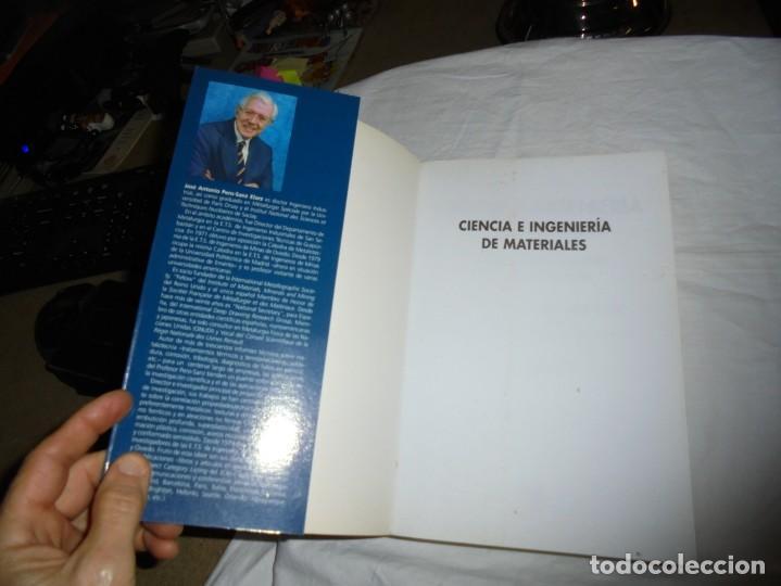 Libros antiguos: CIENCIA E INGENIERIA DE MATERIALES.ESTRUCTURA TRANSFORMACIONES.JOSE ANTONIO PERO-SANZ ELORZ 2006 - Foto 2 - 194504403