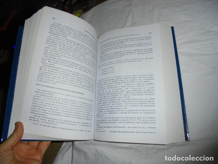 Libros antiguos: CIENCIA E INGENIERIA DE MATERIALES.ESTRUCTURA TRANSFORMACIONES.JOSE ANTONIO PERO-SANZ ELORZ 2006 - Foto 4 - 194504403