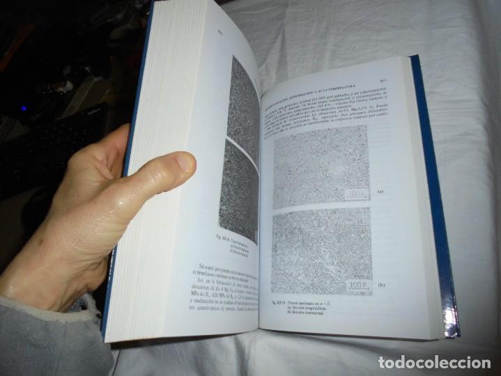 Libros antiguos: CIENCIA E INGENIERIA DE MATERIALES.ESTRUCTURA TRANSFORMACIONES.JOSE ANTONIO PERO-SANZ ELORZ 2006 - Foto 6 - 194504403