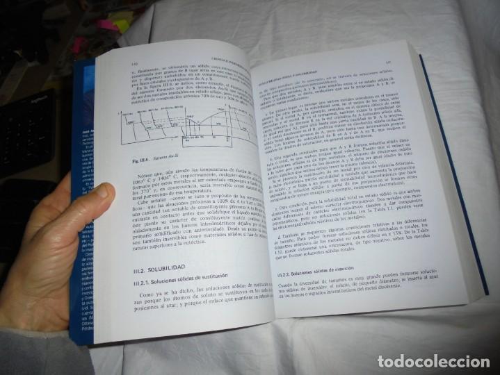 Libros antiguos: CIENCIA E INGENIERIA DE MATERIALES.ESTRUCTURA TRANSFORMACIONES.JOSE ANTONIO PERO-SANZ ELORZ 2006 - Foto 9 - 194504403