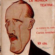 Libros antiguos: CARLOS ARNICHES : LA SOBRINA DEL CURA (LA NOVELA TEATRAL, 1916). Lote 194508406