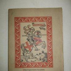 Libros antiguos: HISTORIA DE L'ESFORÇAT CAVALLER PARTINOBLES. (TARRAGONA, 1588). 1908.. Lote 194513302