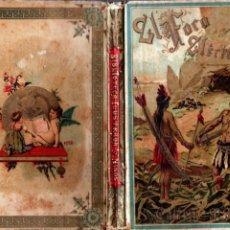 Libros antiguos: MUÑOZ ESCÁMEZ : EL FOCO ELÉCTRICO - NOVELA CIENTÍFICA PARA LA INFANCIA (CALLEJA, 1895). Lote 194514637