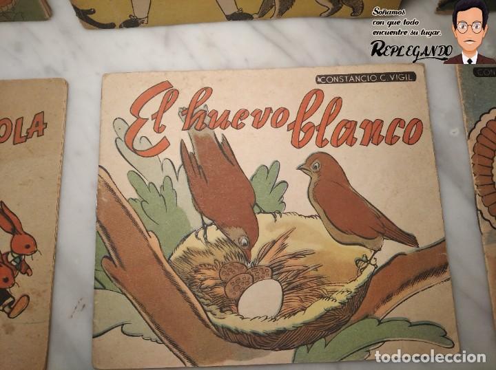 Libros antiguos: VINTAGE COLECCIÓN 9 CUENTOS CONSTANCIO C. VIGIL (AÑOS 20) FANTÁSTICO ESTADO (ARGENTINA) - Foto 6 - 194515856