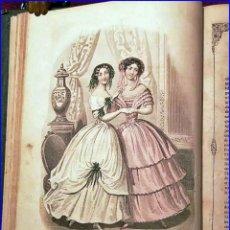 Libros antiguos: AÑO 1851: JOURNAL DE DEMOISELLES. MODA FRANCESA DEL SIGLO XIX.. Lote 194555227