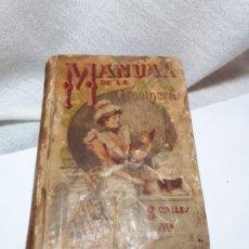 Libros antiguos: MANUAL DE LA COCINERA. Lote 194572297