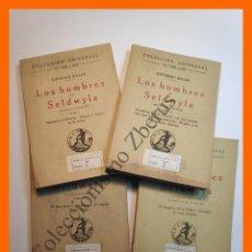 Libros antiguos: LOS HOMBRES DE SELDWYLA - GOTTFRIED KELLER - COLECCIÓN UNIVERSAL (4 TOMOS). Lote 194574267