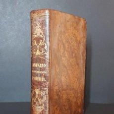Libros antiguos: ANUARIO REPUBLICANO FEDERAL, TOMO 1. J. CASTRO Y COMPAÑÍA. MADRID- 1870. Lote 194589471