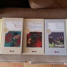 Libros antiguos: LOTE DE 5 LIBROS COLECCIÓN LAS 100 JOYAS DEL MILENIO, X ANIVERSARIO EL MUNDO. Lote 194589693