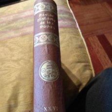 Libros antiguos: HISTORIA DE LOS PAPAS. Lote 194602625