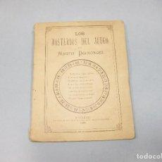 Libros antiguos: LOS MISTEIOS DEL JUEGO POR MARTÍN DOIMÓNGEZ. MADRID 1882. PARA JÓVENES E INCAUTOS. LUDOPATÍA.. Lote 194606060