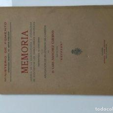 Libros antiguos: ESTUDIO ELECTRIFICACION FERROCARRILES ESPAÑOLES . Lote 194606687