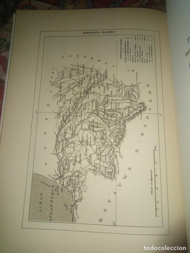 Libros antiguos: Les basses- Pyrenees - V.A. Malte-Brun - les editions du bastión - Foto 6 - 194606953