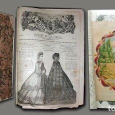 Libros antiguos: REVISTA LA MODA ELEGANTE. Nº 1 AL 52. AÑO 1864. 1 TOMO - A-MOD-390. Lote 194623196