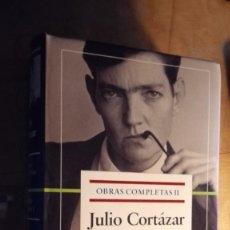 Libros antiguos: JULIO CORTÁZAR. OBRAS COMPLETAS II. TEATRO. NOVELAS I. . Lote 194623696