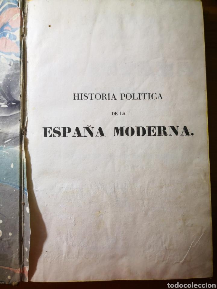 Libros antiguos: 1840 - Historia Política de la España Moderna, por el Señor de Marliani - Foto 2 - 194639316