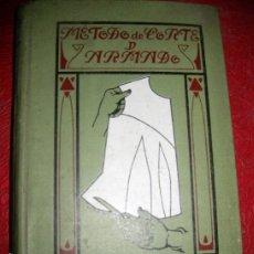 Libros antiguos: LIBRO METODO DE CORTE DE ARMADO PARA VESTIDOS SEÑORA AJUARES NIÑOS CANSTILLAS 1906 MADAME SCHEFER. Lote 194684633