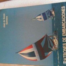Libros antiguos: PATRON DE EMBARCACIONES DE RECREO. Lote 194685025