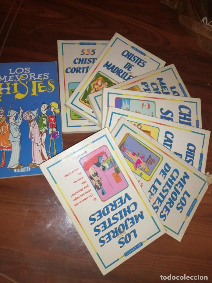 LOTE DE LIBROS DE HUMOR Y CHISTES (Libros antiguos (hasta 1936), raros y curiosos - Literatura - Narrativa - Otros)