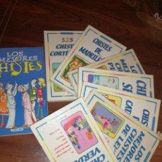 Libros antiguos: LOTE DE LIBROS DE HUMOR Y CHISTES . Lote 194697605