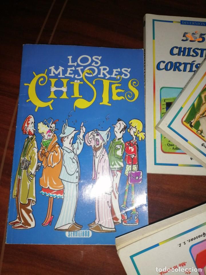 Libros antiguos: Lote de libros de humor y chistes - Foto 2 - 194697605