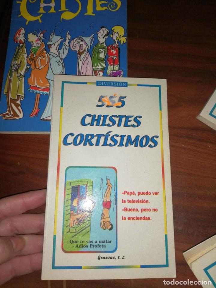 Libros antiguos: Lote de libros de humor y chistes - Foto 4 - 194697605