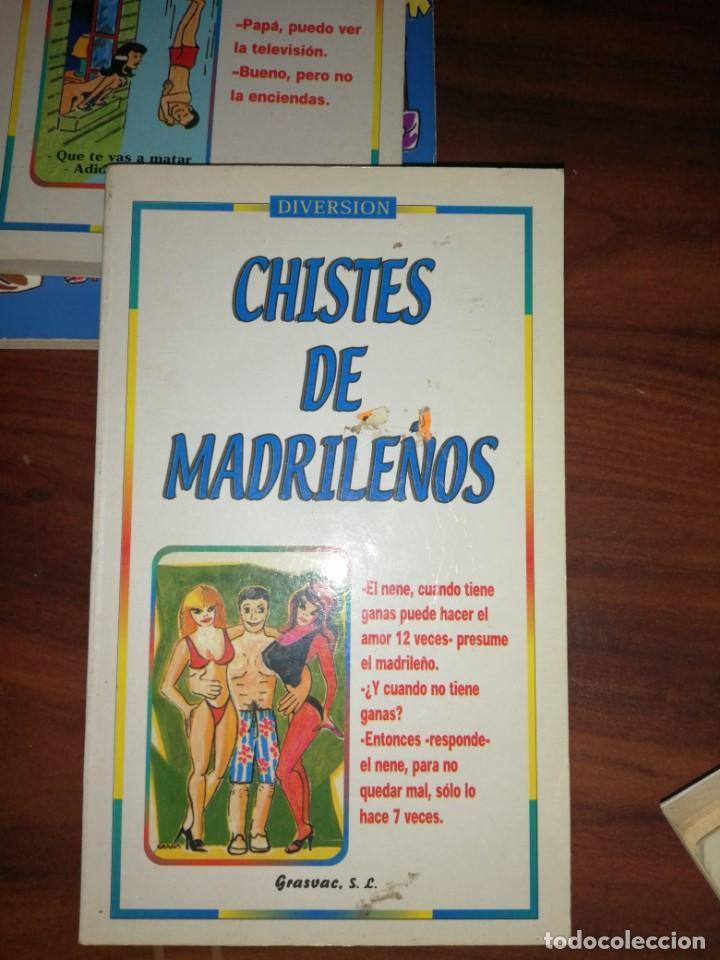 Libros antiguos: Lote de libros de humor y chistes - Foto 6 - 194697605