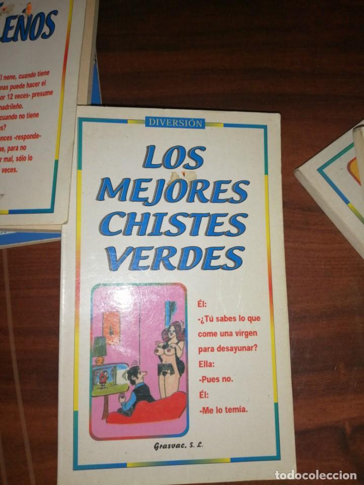Libros antiguos: Lote de libros de humor y chistes - Foto 7 - 194697605