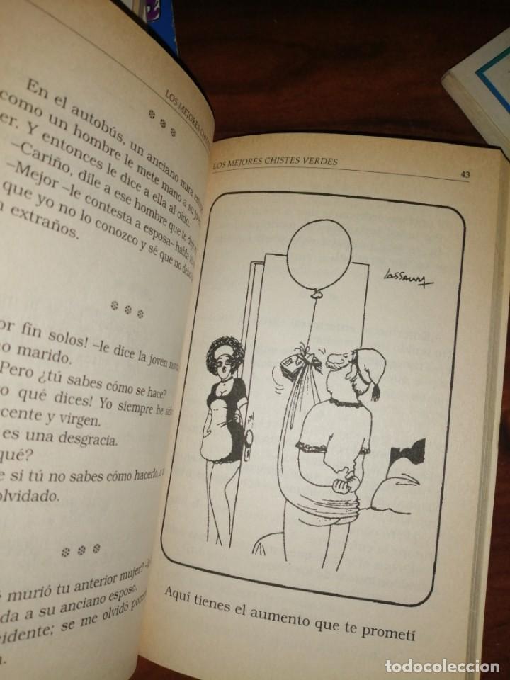 Libros antiguos: Lote de libros de humor y chistes - Foto 8 - 194697605