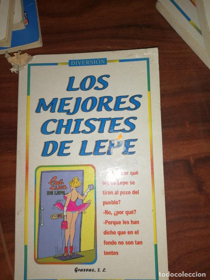 Libros antiguos: Lote de libros de humor y chistes - Foto 9 - 194697605